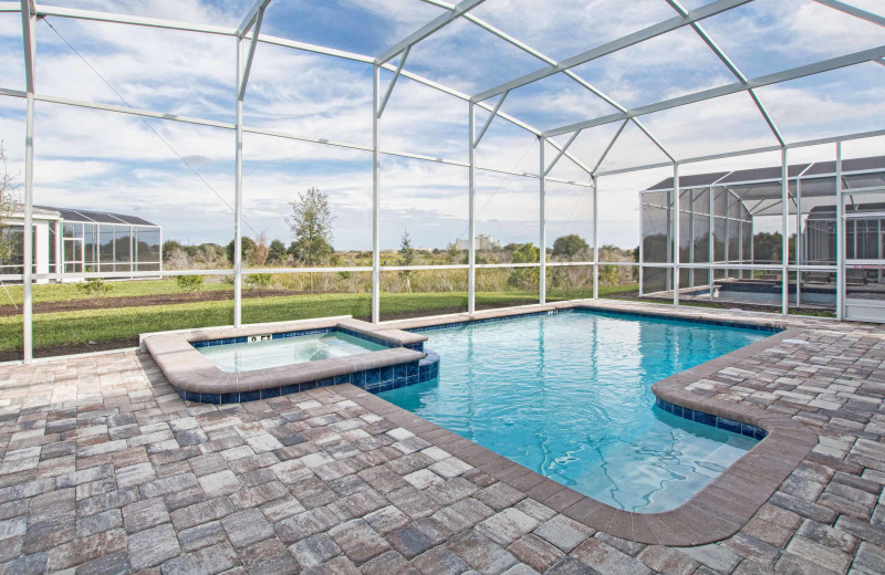 Rental pool at Vacation Pool Homes.