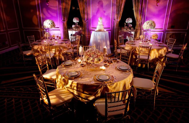 Wedding reception at Hotel Commonwealth.