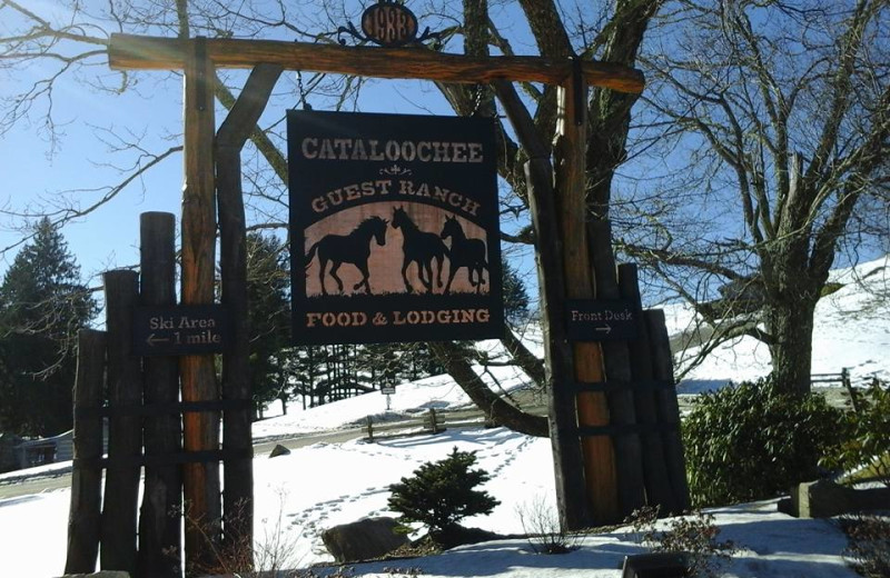 Welcome to Cataloochee Ranch.