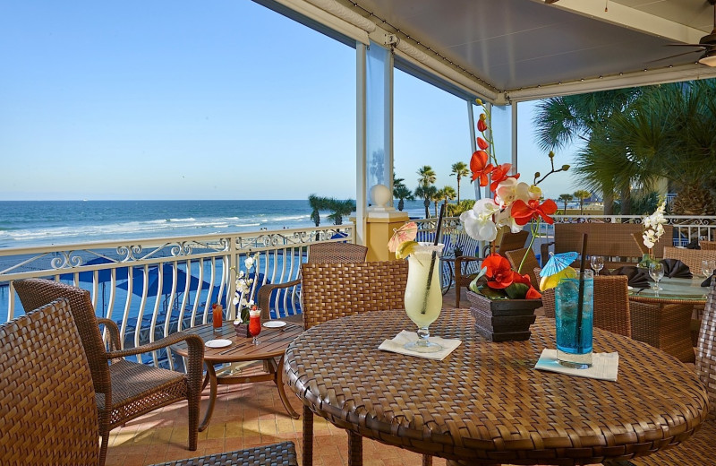 Beach view at Plaza Resort & Spa.