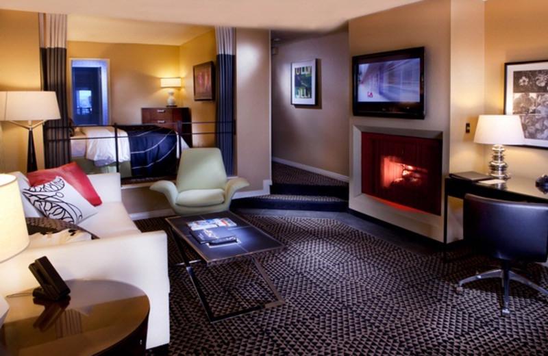 Suite at Le Montrose Suite Hotel.