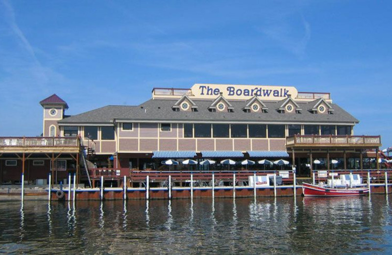 The Boardwalk Restaurant in Put-In-Bay, Ohio