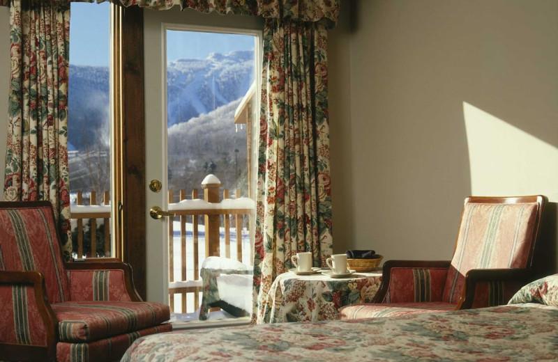 Balcony room at The Mountain Inn.
