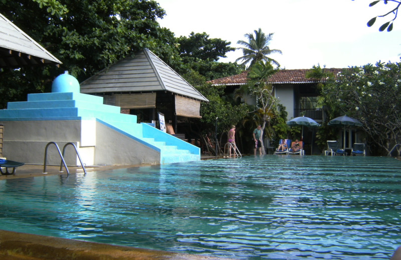 Outdoor pool at Jetwing Tropical Villas.