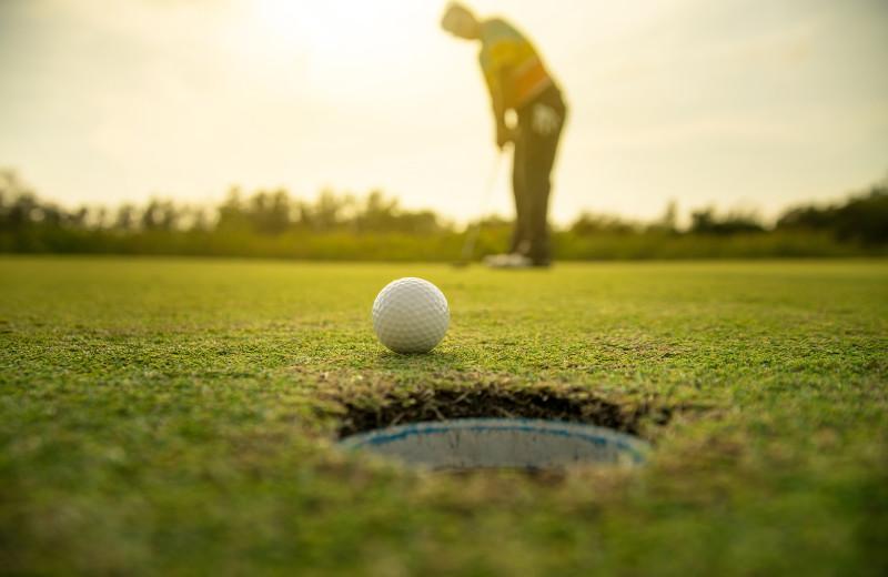 Golf near Oceanfront Getaways.
