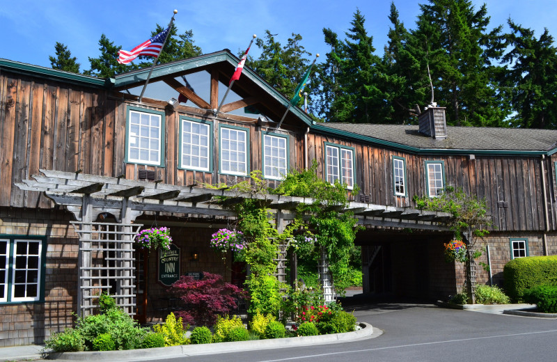 Exterior view of La Conner Country Inn.