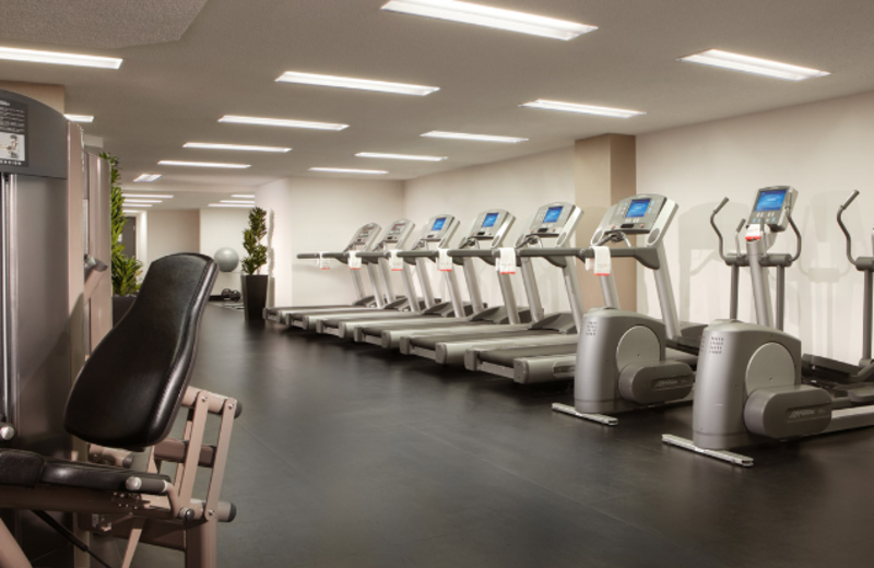 Fitness Center at Hyatt Regency Santa Clara