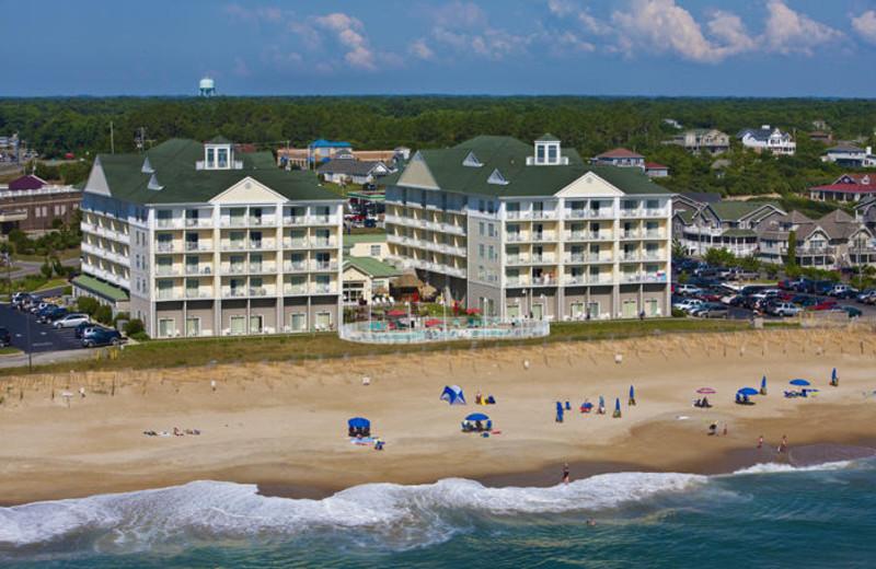 Resort view at Hilton Garden Inn Outer Banks.