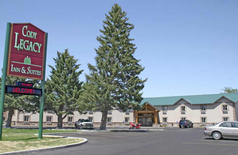 Exterior view of Cody Legacy Inn.