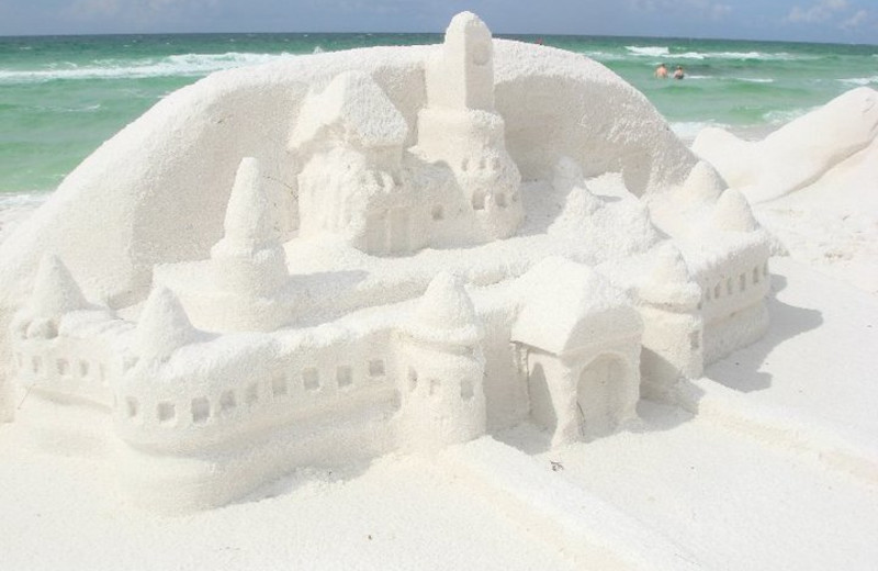 Sandcastles on the beach at Newman-Dailey Resort Properties, Inc.