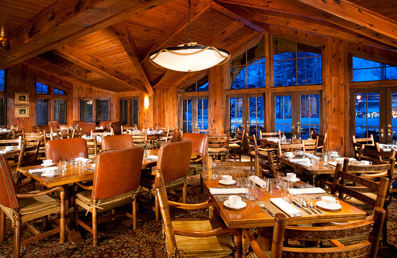 Dining at The Lodge At Vail.