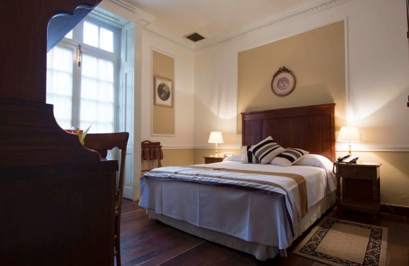 Guest room at La Casona.