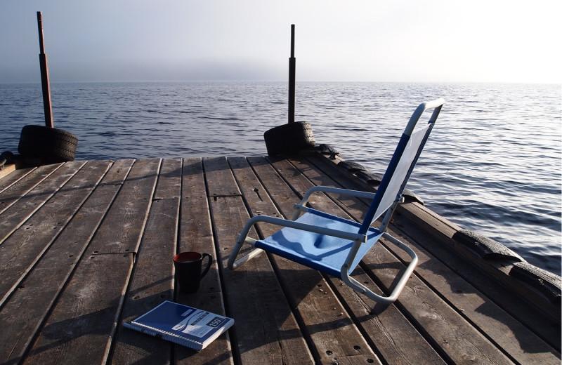 Dock at Heston's Lodge.