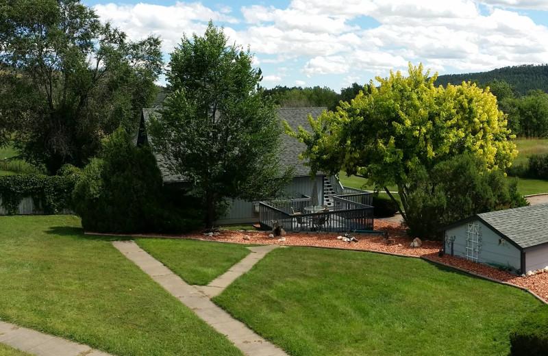 Exterior view of Sweetgrass Inn.