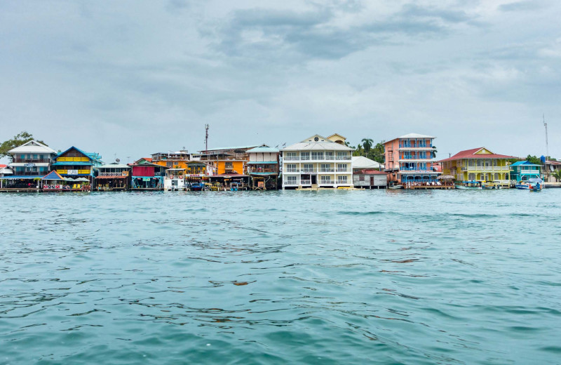 City near Bocas Bali Resort.