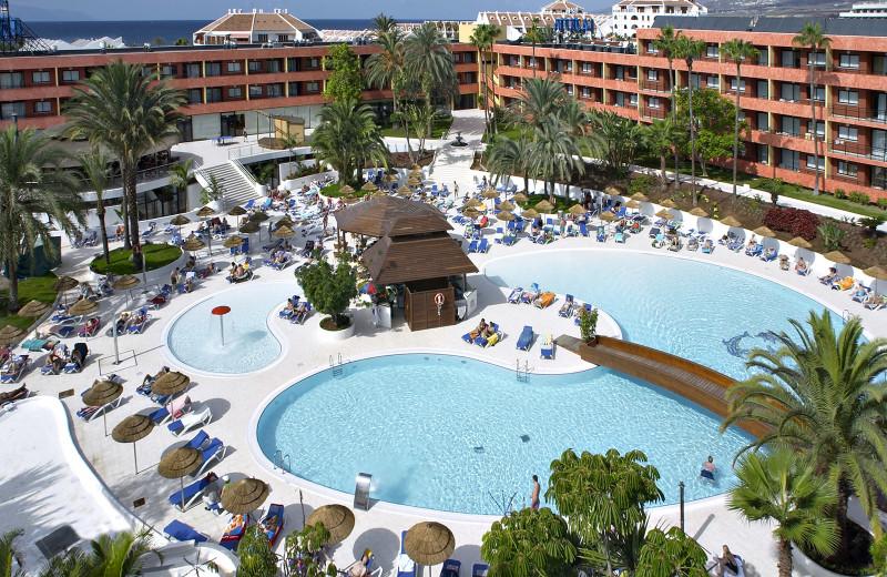 Outdoor pool at  La Siesta Hotel.