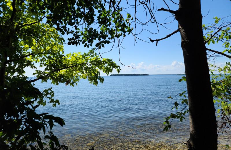 Lake near High Point Inn.