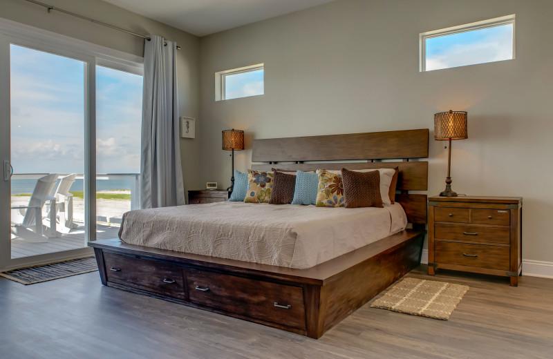 Rental bedroom at Boardwalk Realty Inc.
