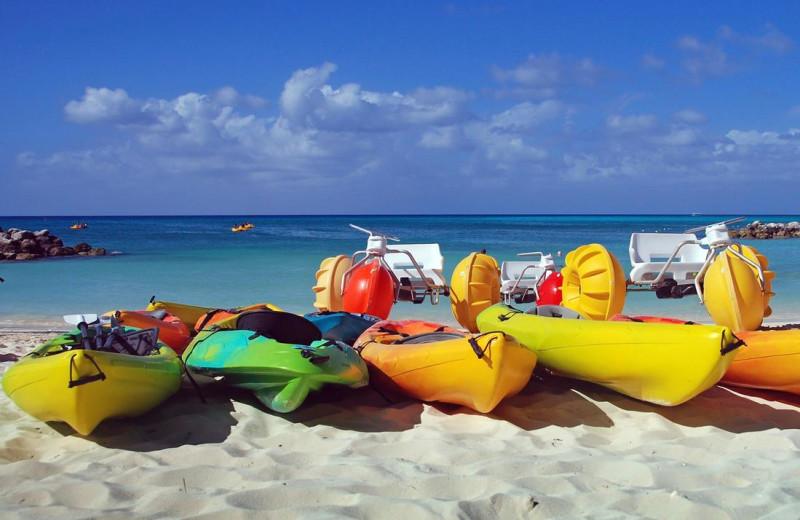 Beach at Winnetu Oceanside Resort.