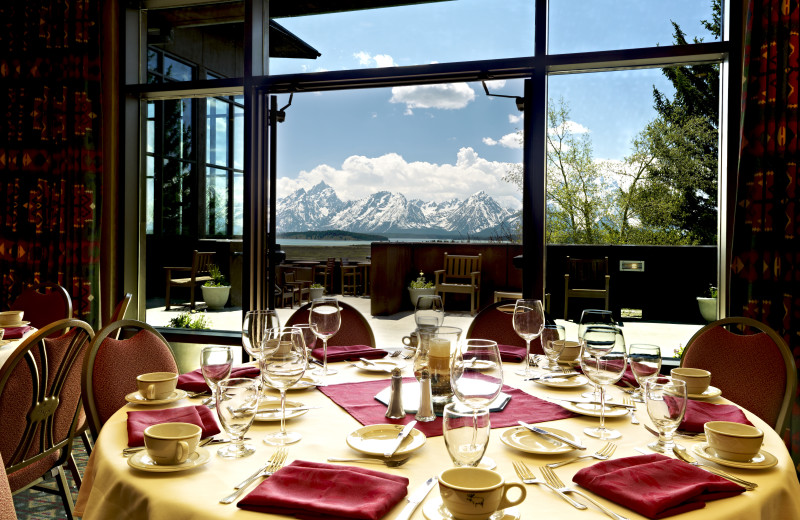 Dining room at Jackson Lake Lodge.