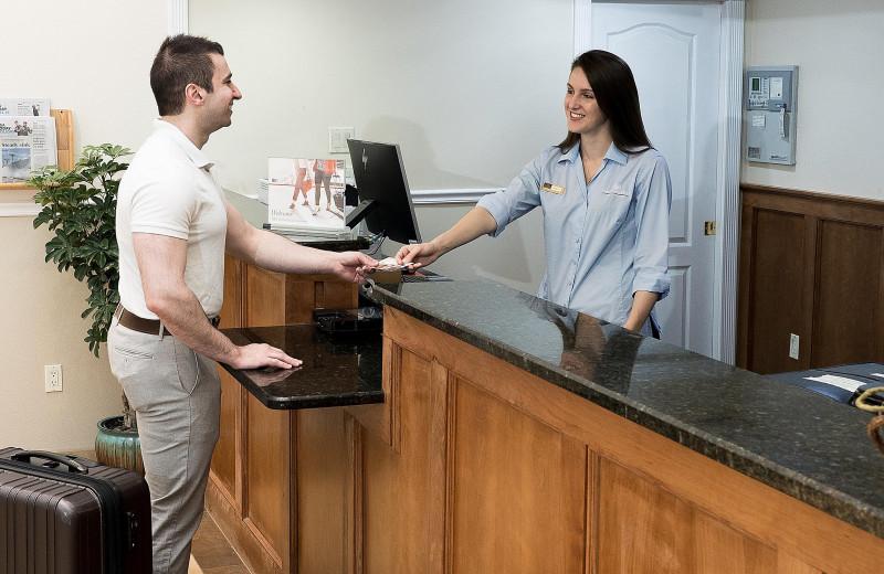 Check desk at Candlewood Suites - Stevensville.
