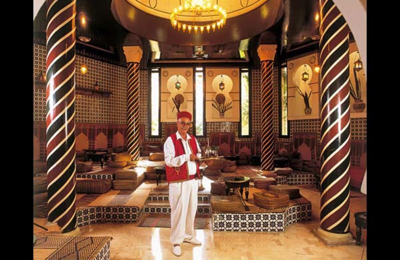 Lounge at Abou Nawas Diar El Andalous.