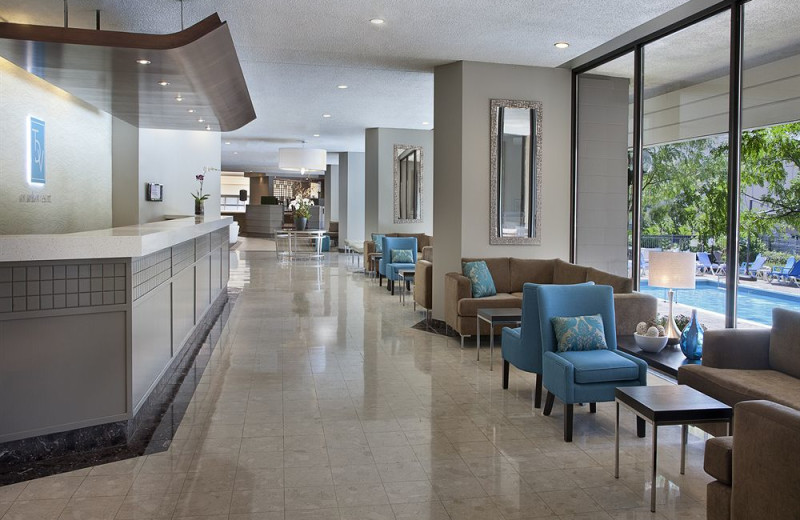 Lobby at the Toronto Don Valley Hotel & Suites
