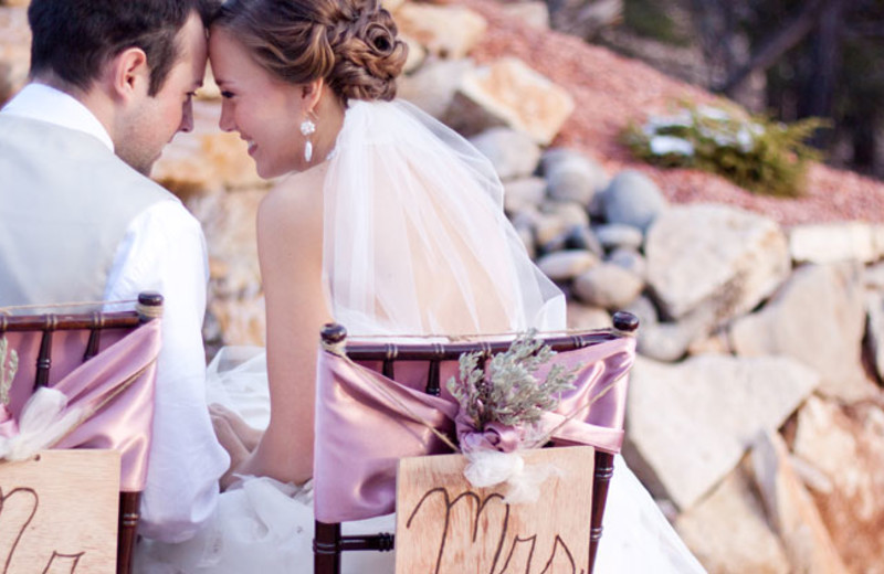 Wedding at Zion Ponderosa Ranch Resort.