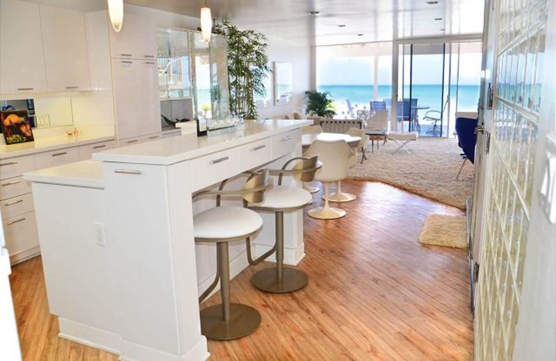 Rental kitchen at Capistrano Realty.