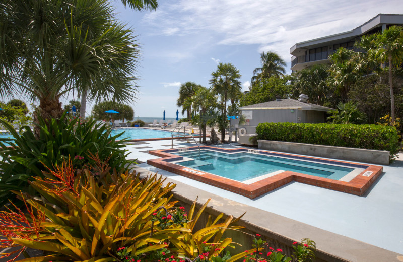 Pool at 1800 Atlantic, All Florida Keys Property Management.