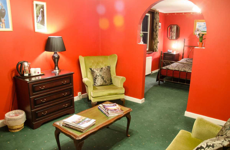 Guest room at Glendruidh House Hotel.