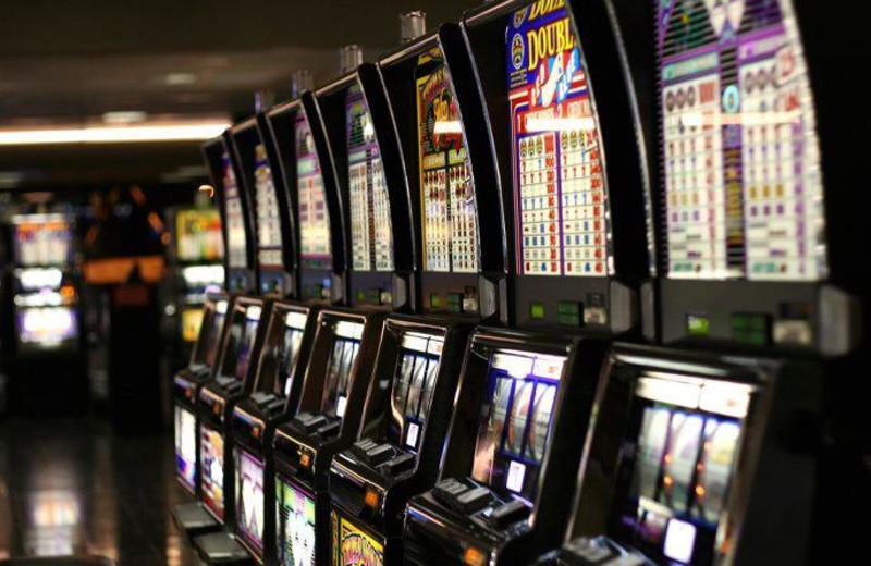 Slot machines at Emerald Queen Hotel & Casino.