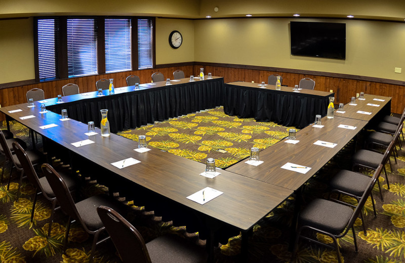 Meeting room at Grand View Lodge.