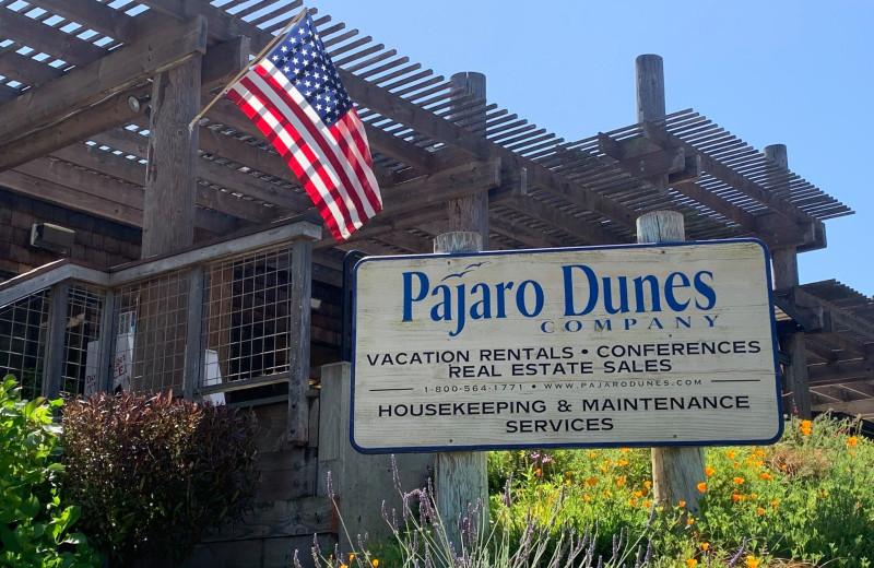 Exterior view of Pajaro Dunes Resort.