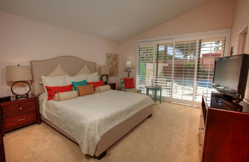 Rental bedroom at Sundance Villas.