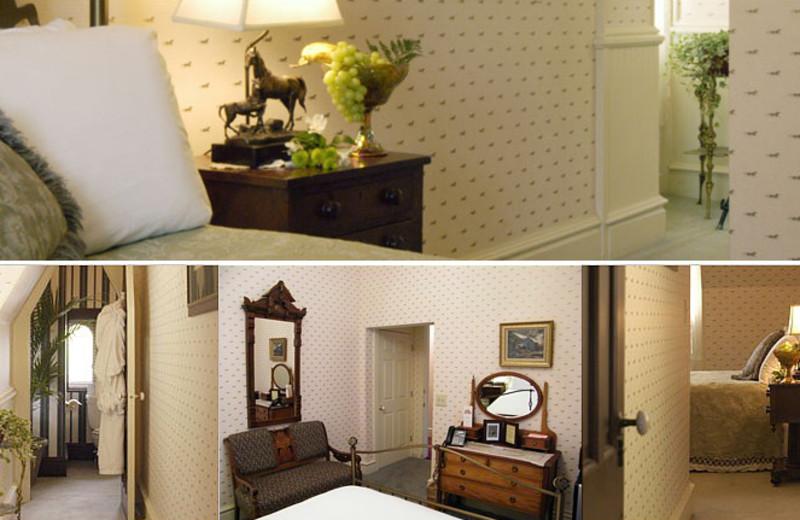 President Roosevelt room at Batcheller Mansion Inn Bed and Breakfast.