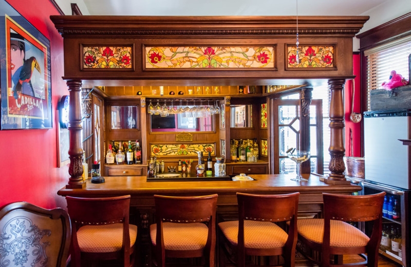Bar at The Hoyt House.