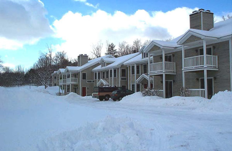 Resort in the winter time at The Inn at Willow Pond.