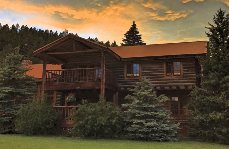 Cabin at Paradise Guest Ranch.