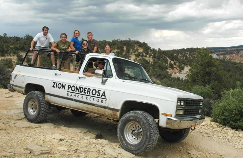 Tours at Zion Ponderosa Ranch.