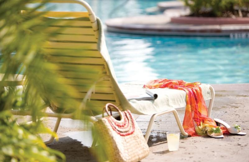 Relaxing at Wyndham Bonnet Creek Resort.