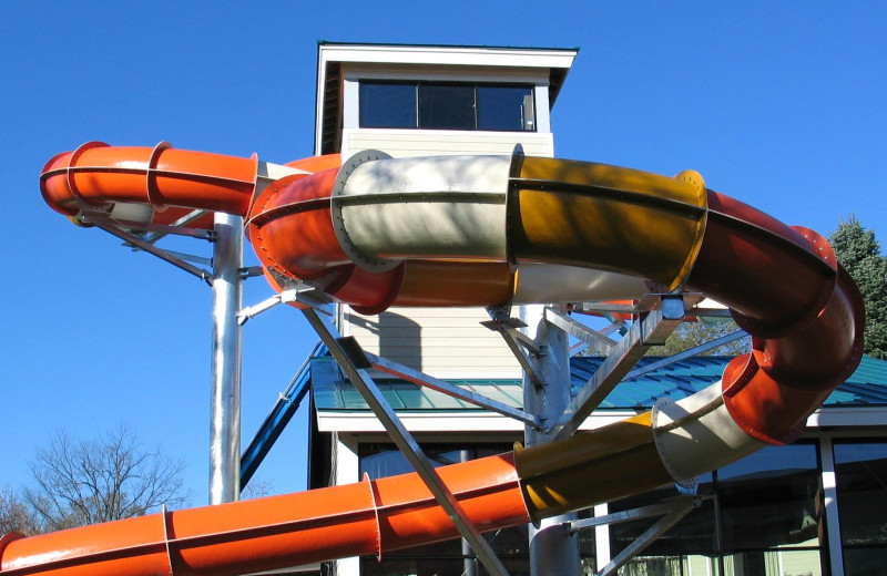 Water slide at Rocking Horse Ranch Resort.
