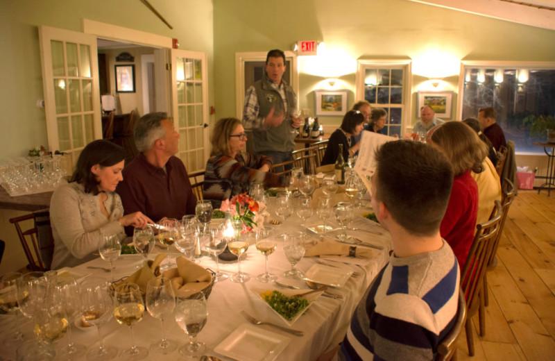Meetings at The Red Clover Inn & Restaurant.