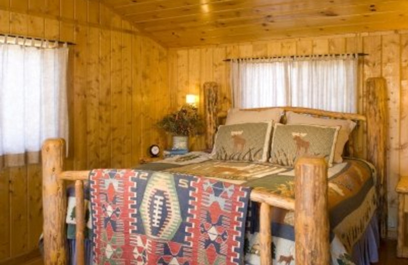 Cabin Guest Room at Triangle X Ranch