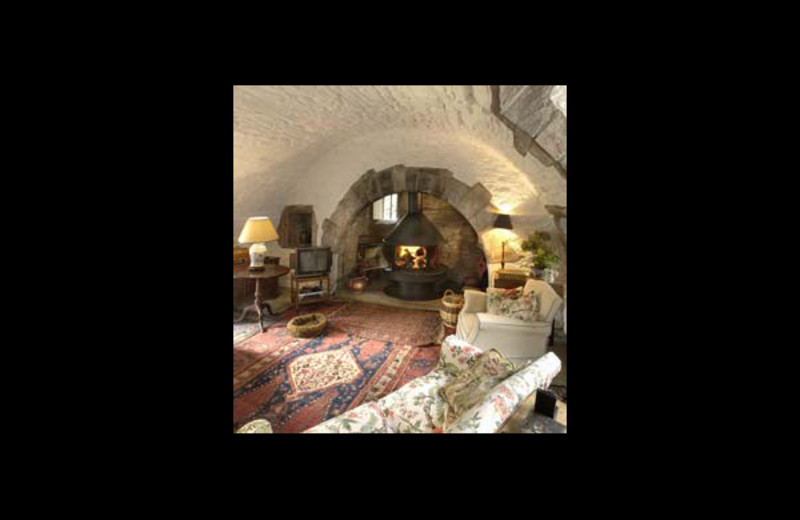 Living room at Kippenross.