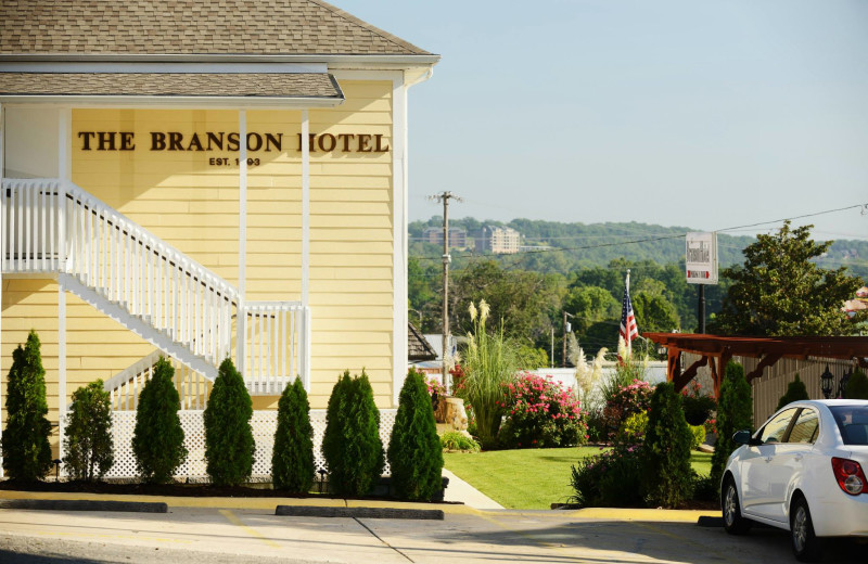 Exterior view of The Branson Hotel.