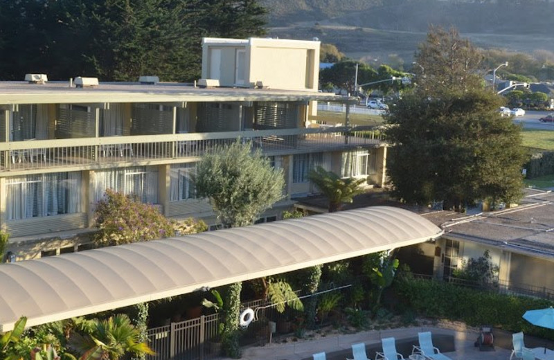 Exterior of Carmel Mission Inn