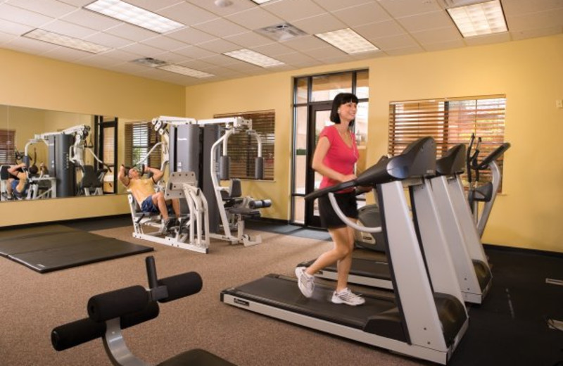 Fitness room at Floridays Resort Orlando.