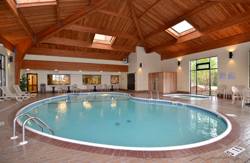 Indoor Pool at  Comfort Inn & Suites