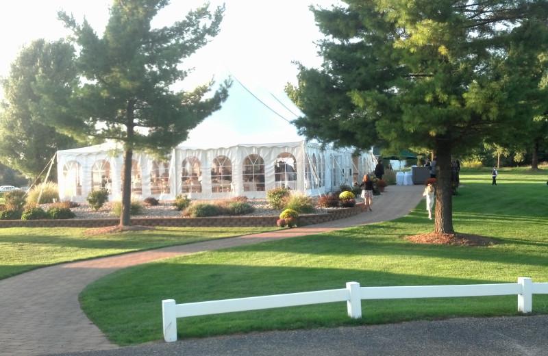 Wedding venue at Manistee National Golf & Resort.